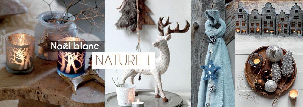 Pour une d�coration de no�l nature, venez d�couvrir la gamme d�co de no�l nature
