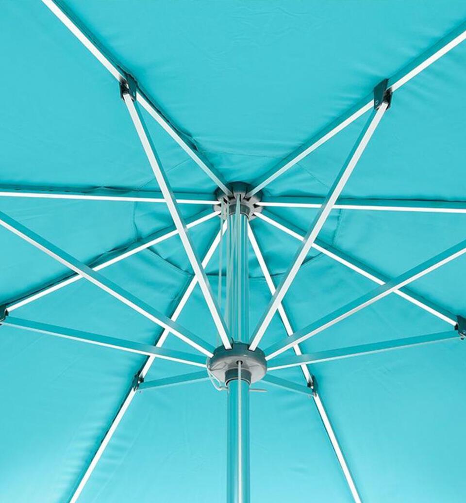 raggi dell'ombrellone