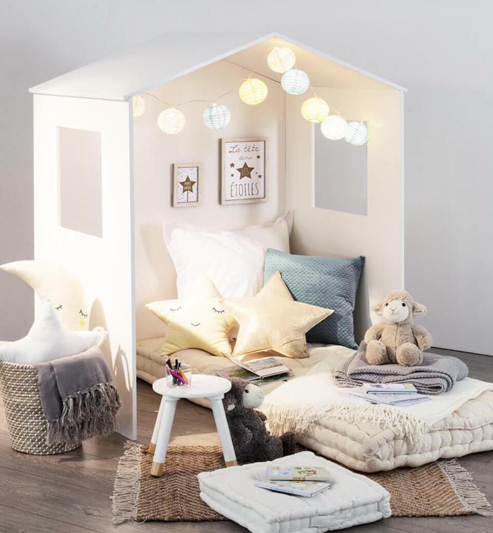 cabane pour chambre d'enfant