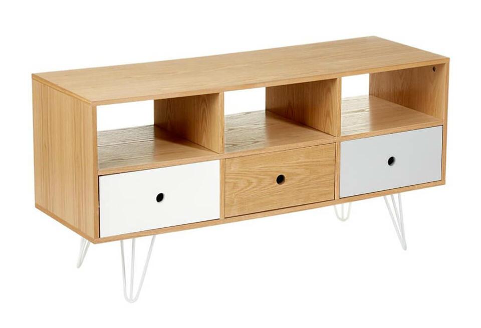 meuble bas style scandinave