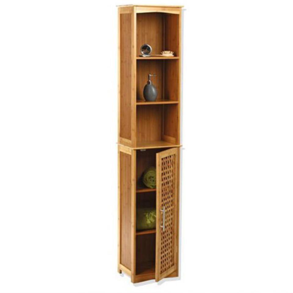 meuble de salle de bain colonne en bois