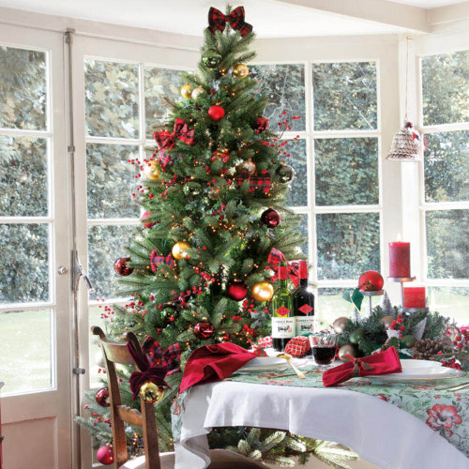 albero di Natale stile tradizionale