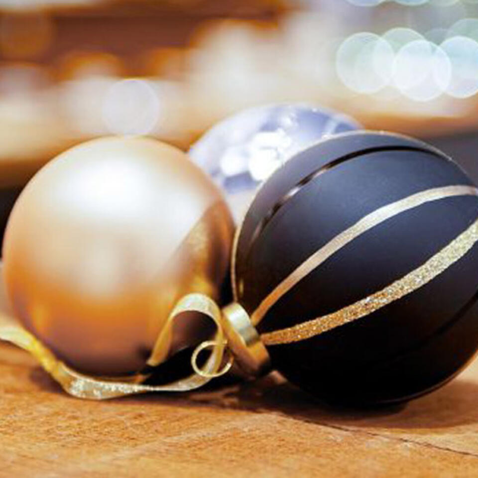 palline di Natale tendenza