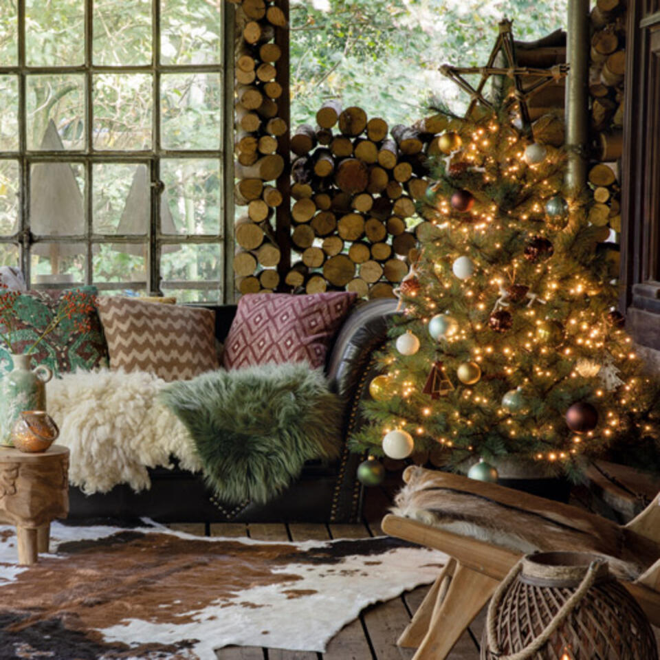albero di Natale tendenze naturali