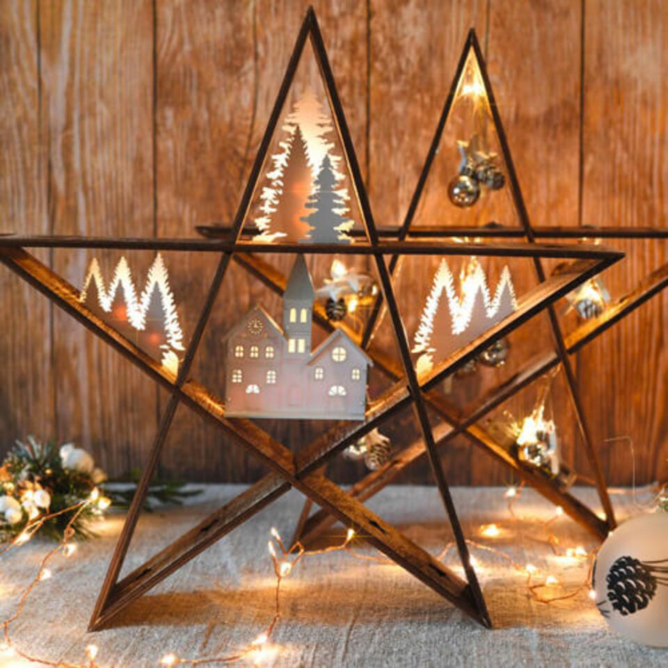 étoile lumineuse de Noel