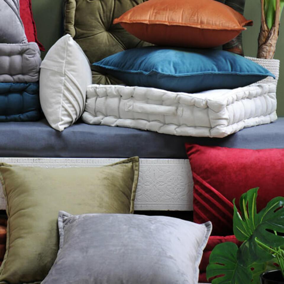 cuscini di velluto
