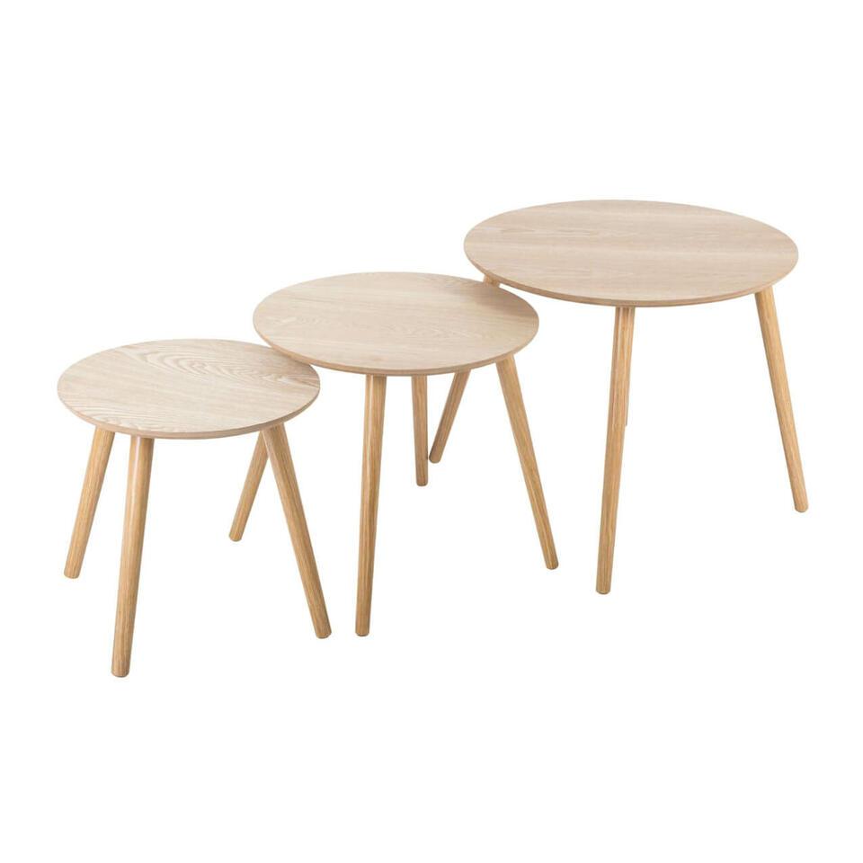 table gigogne ronde
