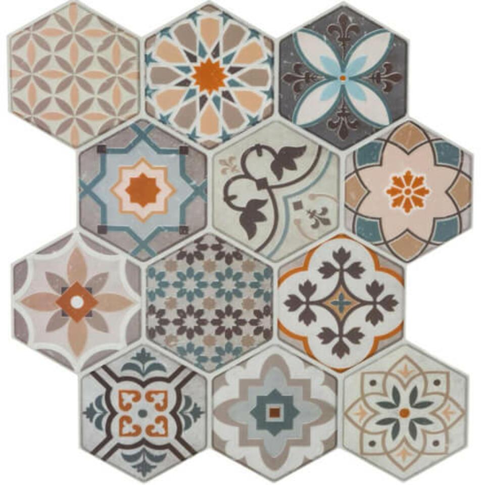 Sticker adesivo mattonelle di cemento