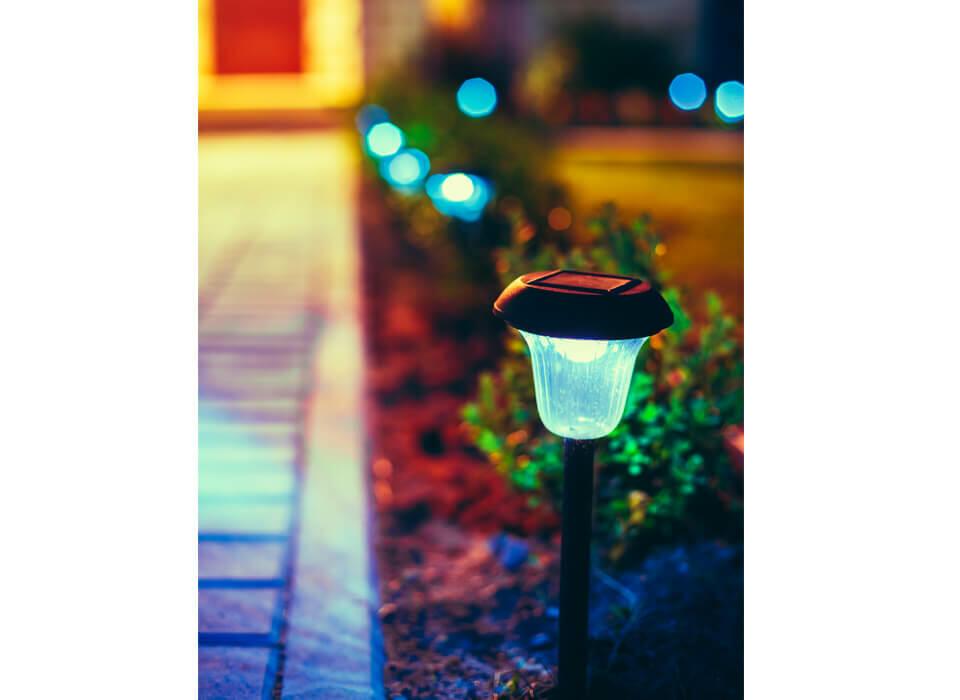 borne lumineuse exterieur design