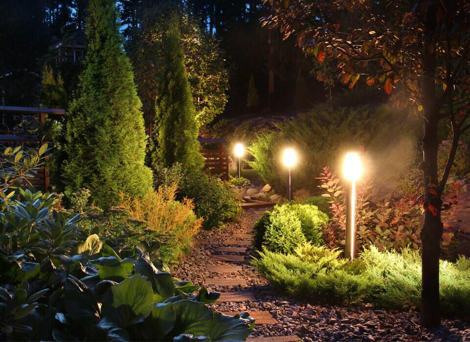paletti luminosi per esterno in inox