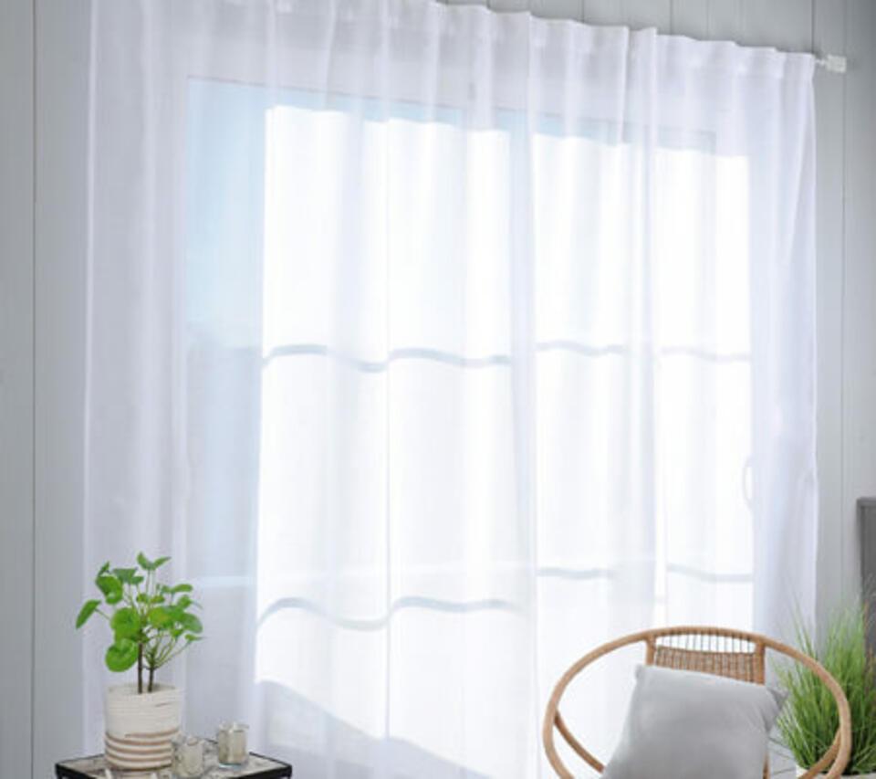 tenda trasparente per salone