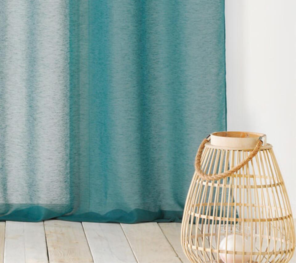 tenda trasparente blu anatra