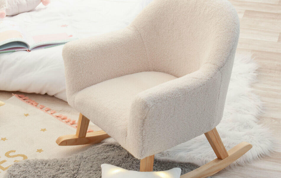 fauteuil à bascule pour enfants
