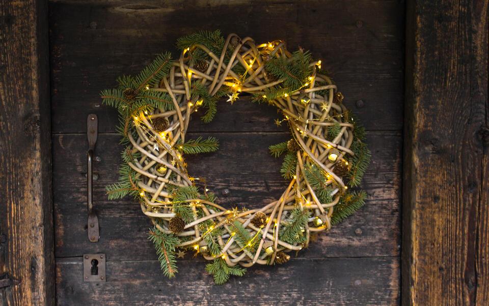 Come creare una corona di Natale