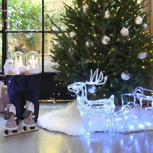 animaux de Noël lumineux