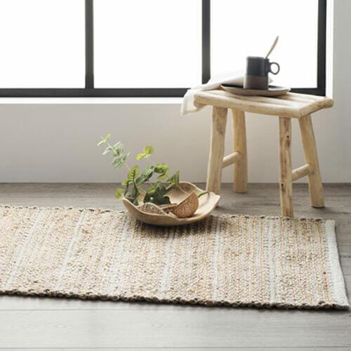 tapis deco japandi