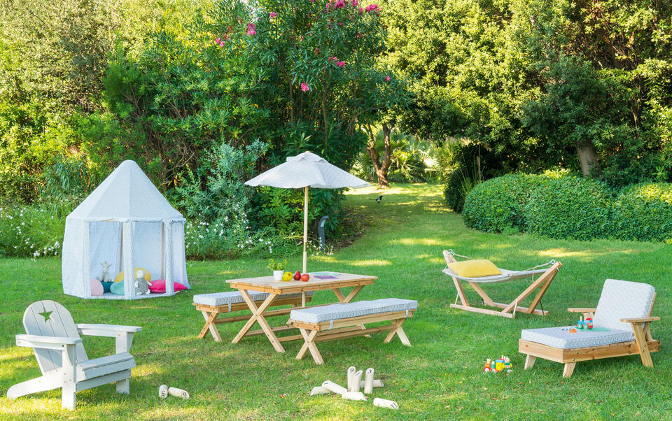 mobili da giardino per bambini