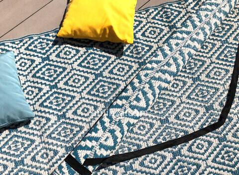 tapis d'extérieur à motifs