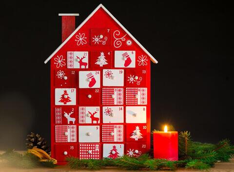 calendrier à décorer