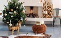 Sapin de Noel dans un décor moderne