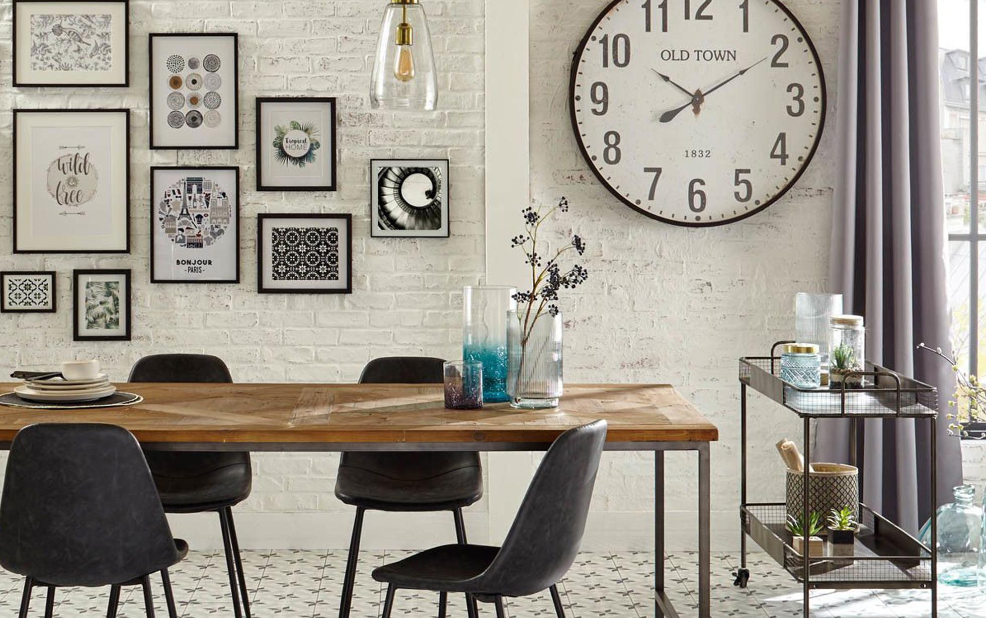 Relooker Une Table De Toilette En Marbre comment décorer un mur ? - nos 7 idées déco murale - eminza