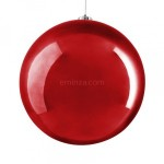 Boule de Noël (D200 mm) Alpine Rouge