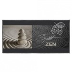 Tapis multi-usage (115 cm) Spirit zen Gris anthracite
