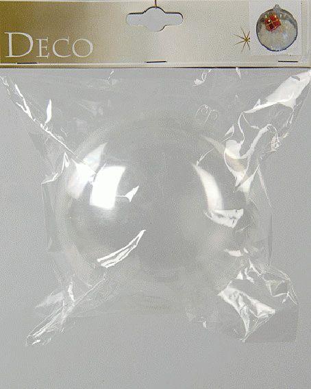 boule de no l remplir d120 mm transparent boule de no l eminza. Black Bedroom Furniture Sets. Home Design Ideas