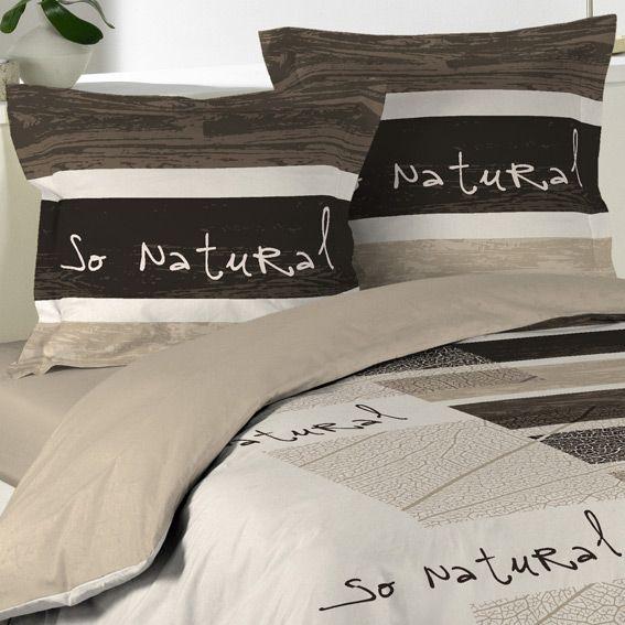 housse de couette et deux taies 240 cm so natural housse de couette eminza. Black Bedroom Furniture Sets. Home Design Ideas