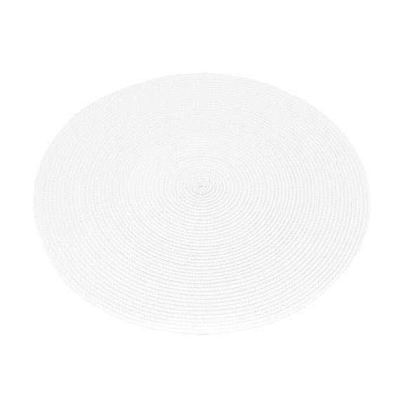 Set de table galaxie blanc set de table eminza for Set de table blanc