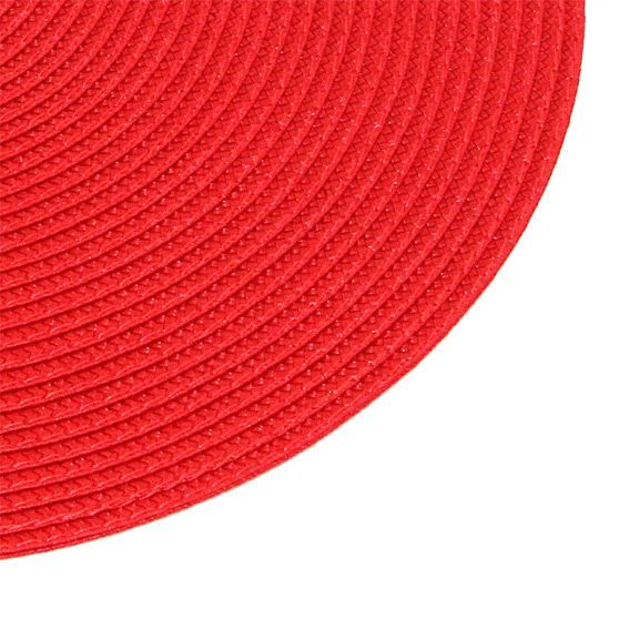 Set de table galaxie rouge set de table eminza for Set de table rouge rond