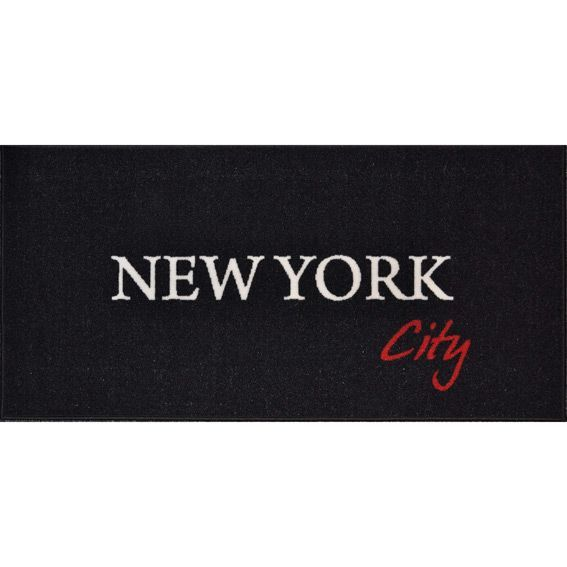 tapis de cuisine xxl 115 cm new york city tapis multi usage eminza. Black Bedroom Furniture Sets. Home Design Ideas