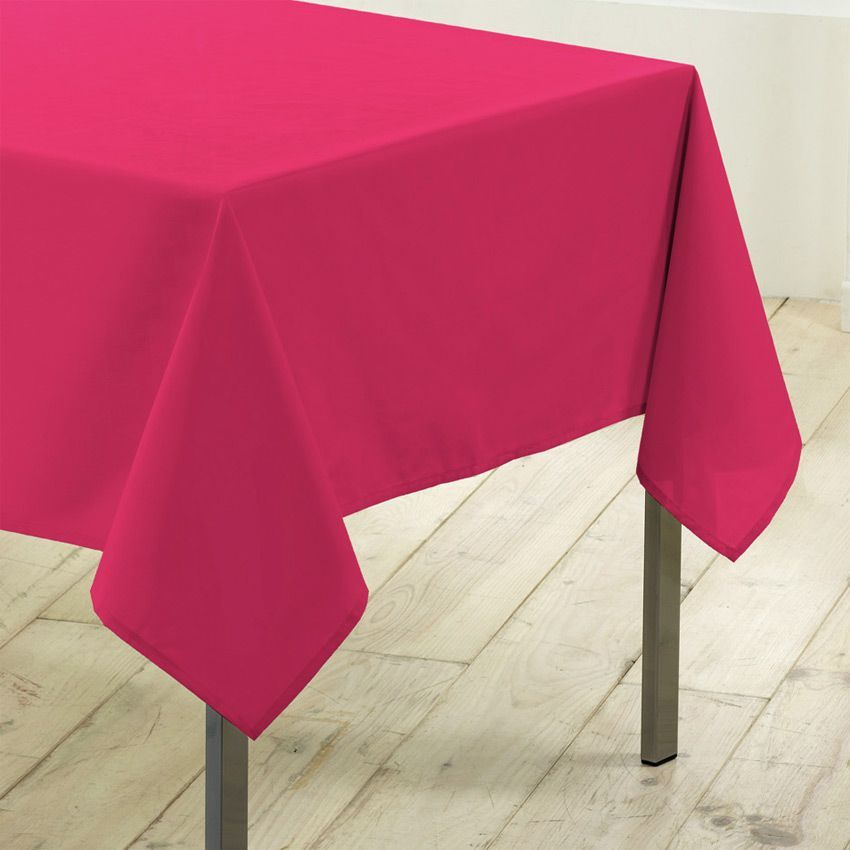 nappe rectangulaire l300 cm gamme essentiel fuchsia. Black Bedroom Furniture Sets. Home Design Ideas
