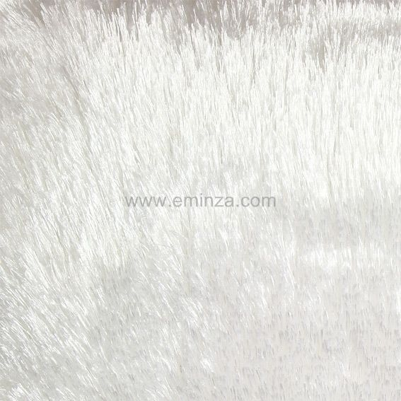 Coussin fausse fourrure 40 cm peluche blanc coussin et housse de coussin eminza - Coussin fausse fourrure blanc ...