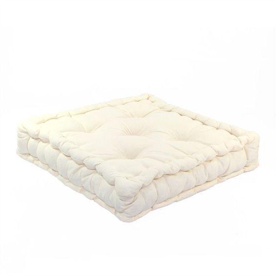 coussin de sol 50 cm etna ivoire coussin de sol et. Black Bedroom Furniture Sets. Home Design Ideas