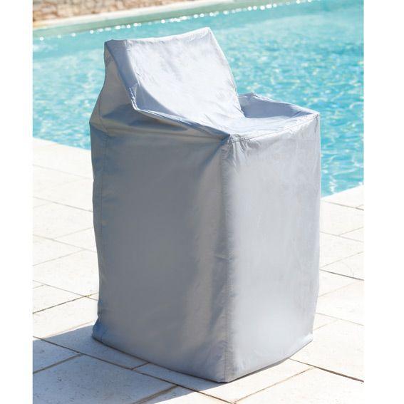 housse pile de chaises l90 cm housse de protection eminza. Black Bedroom Furniture Sets. Home Design Ideas
