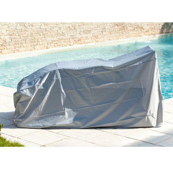 housse bain de soleil double housse de protection eminza. Black Bedroom Furniture Sets. Home Design Ideas