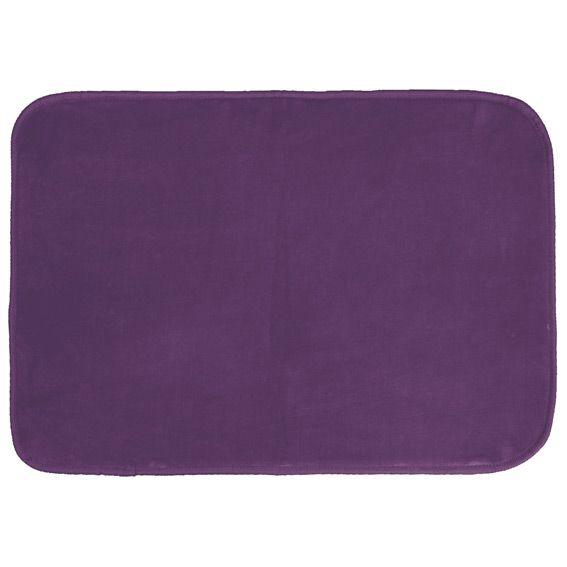 Tapis velours uni l170 cm prune tapis de chambre salon Tapis salon prune