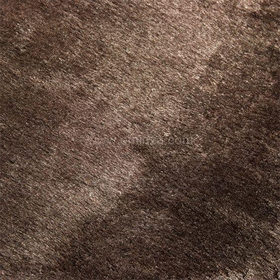 tapis peau de b te peluche chocolat tapis pour la maison. Black Bedroom Furniture Sets. Home Design Ideas