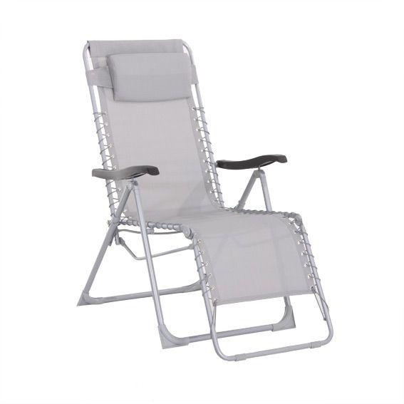 Fauteuil d tente silos gris fauteuil d tente eminza - Fauteuil detente jardin ...