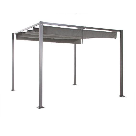 tonnelle elliston cabriolet gris eminza. Black Bedroom Furniture Sets. Home Design Ideas