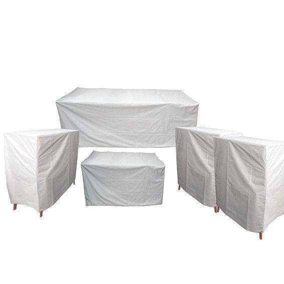 Jeu de housses protection pour salon lavidia housse de protection eminza for Housse de fauteuil salon de jardin