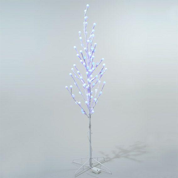 Peuplier lumineux faglia h100 cm multicouleur arbre - Arbre lumineux exterieur noel ...
