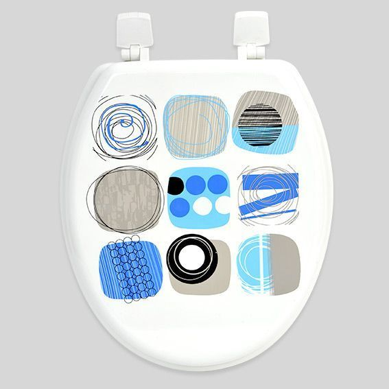 abattant wc design bleu abattant wc eminza. Black Bedroom Furniture Sets. Home Design Ideas