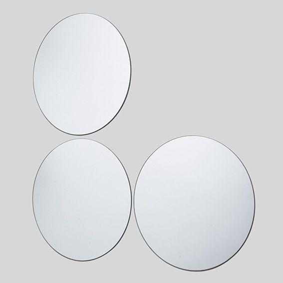 Miroir Miroir Rond Ou Ovale Grand Miroir Rond En Bois