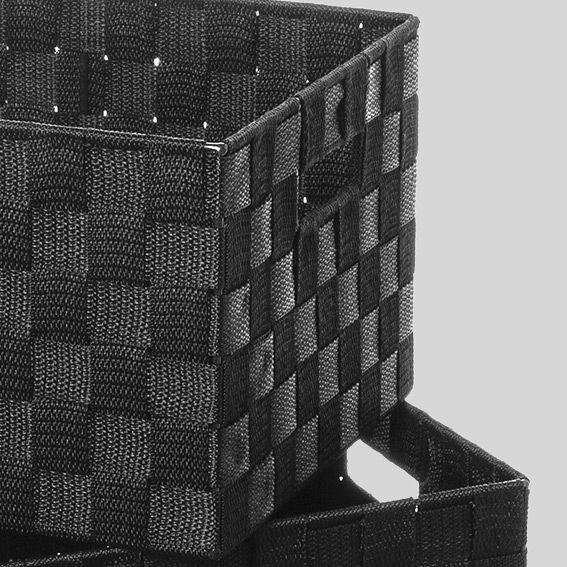 pani re de rangement noire. Black Bedroom Furniture Sets. Home Design Ideas