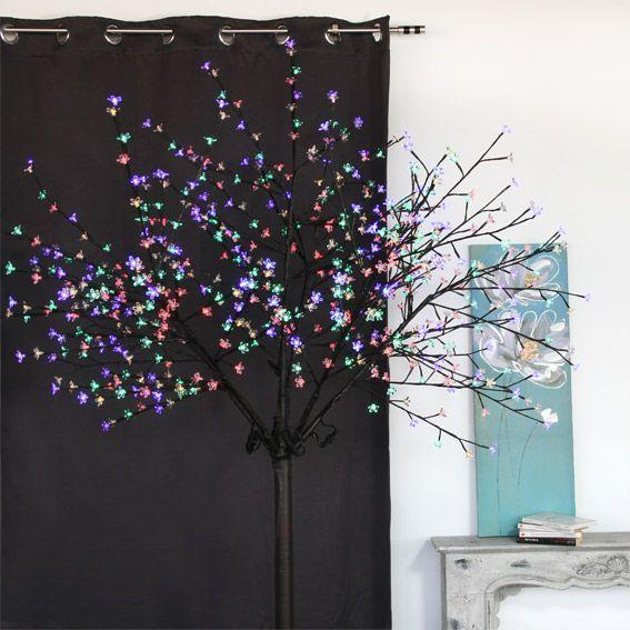 grand arbre lumineux mio multicouleur. Black Bedroom Furniture Sets. Home Design Ideas