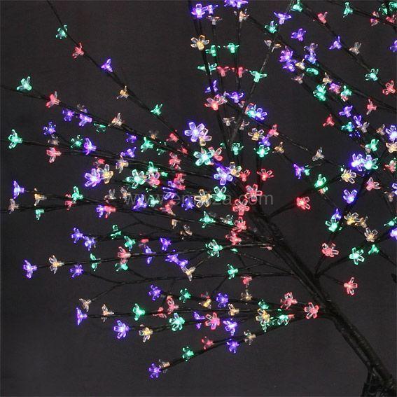 grand arbre lumineux cerisier multicolore arbre lumineux eminza. Black Bedroom Furniture Sets. Home Design Ideas