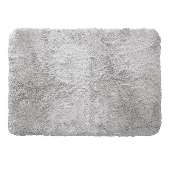 Tapis rectangulaire 170 cm marmotte gris clair tapis - Tapis salon gris clair ...