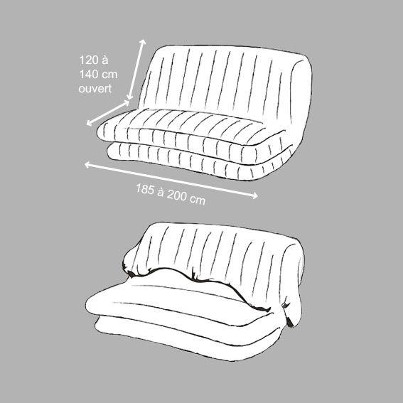 housse de clic clac urban pop gris multi housse de clic clac bz eminza. Black Bedroom Furniture Sets. Home Design Ideas